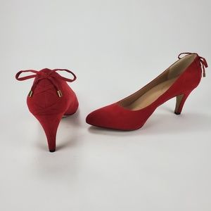 [Coach and Four] Louisa Red Heels